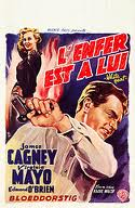 French movie poster for White Heat.