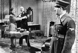 Bronski saves Maria by making Col. Erhardt think she is Hitler's girl!