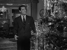 Who wouldn't want Cary Grant over to decorate their Christmas tree??