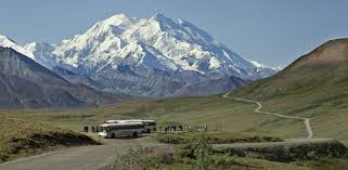 Mt. McKinley, now Mt. Denali