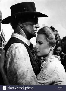 Gary Cooper and Grace Kelly, High Noon
