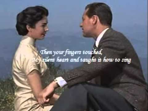 Jennifer Jones and William Holden, Love is a Many-Splendored Thing